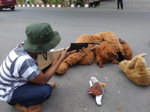 Komplotan Pemburu Kancil di Hutan Tenggulun Aceh Ditangkap
