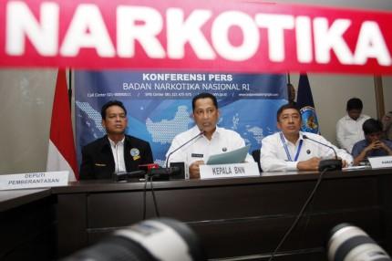 BNN Ingin Uang Kejahatan Narkotika untuk Operasi Pemberantasan