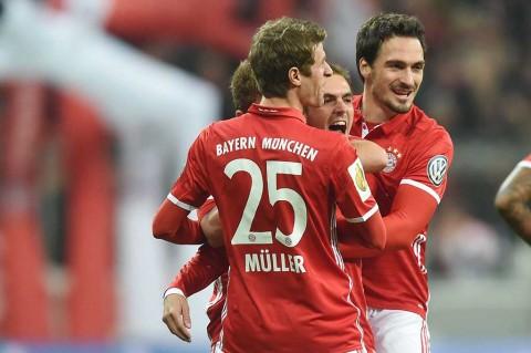 Tekuk Augsburg 3-1, Bayern ke Babak Ketiga Piala Jerman