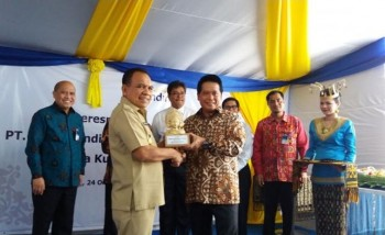 Gubernur NTT Resmikan Bank Mandiri Area Kupang