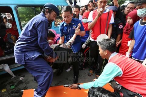 NasDem Lepas Satgas Antinarkoba Makassar