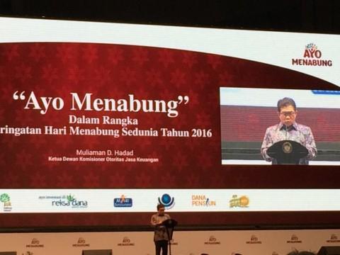 Rasio Menabung Indonesia terhadap GDP Baru 31%