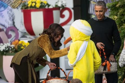 Rayakan Halloween, Obama Undang Anak-anak ke Gedung Putih