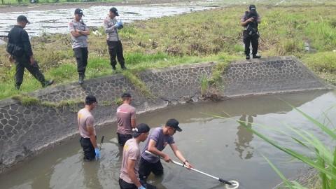 Polisi Ukur Daya Ledak Bom Paku di Bantul