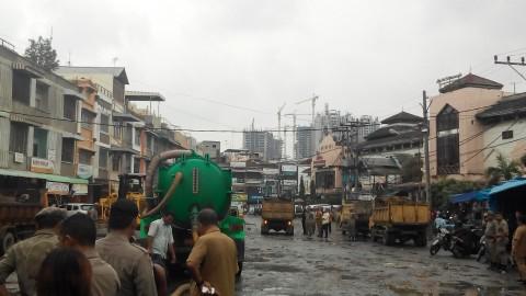 Sambut Ibu Negara, Pemkot Medan Bersih-bersih Pasar Petisah