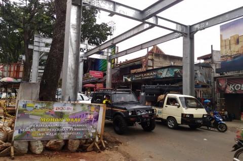 Skywalk Dibangun, Jalan Cihampelas Bandung bakal Ditutup