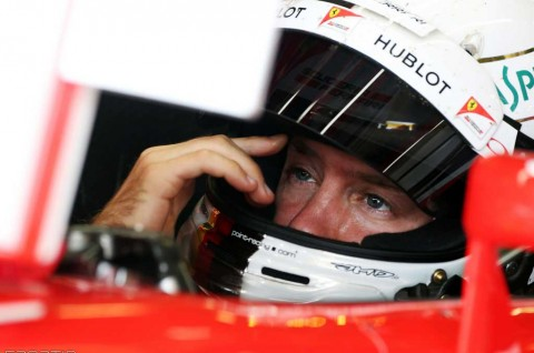 Tingkat Frustrasi Vettel sudah Berlebihan