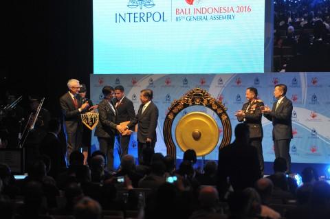 Wapres Buka Sidang Interpol ke-85 di Bali