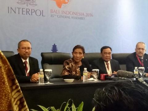 Di Sidang Interpol, Susi Cerita Penanganan Pencurian Ikan