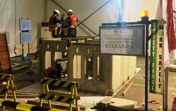 Finalis Indocement Awards 2016 Lomba Membangun Replika Rumah Fabrikasi