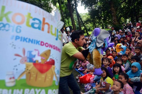 Festival Dongeng Kota Hujan 2016 Digelar