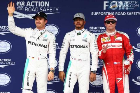 Hamilton Perkecil Peluang Rosberg di Kualifikasi F1 Brasil