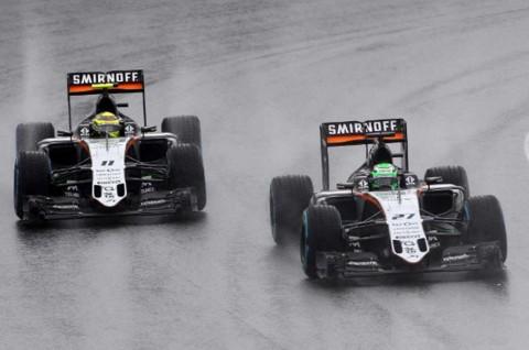 Force India Tekuk Williams dari Posisi 4 di Klasemen TIm