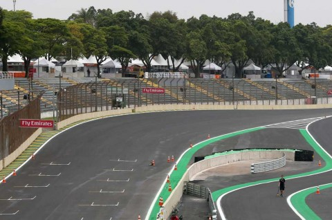 Ini Tikungan Paling Berbahaya di F1 Brasil