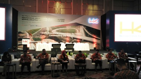 Terbitkan Obligasi Rp1 Triliun, Hutama Karya Tawarkan Bunga 8,2%-8,65%