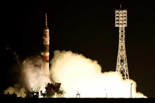 Pesawat Antariksa Soyuz Diluncurkan ke Stasiun Luar Angkasa