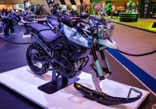 Ice Bike, Macan Salju ala Triumph