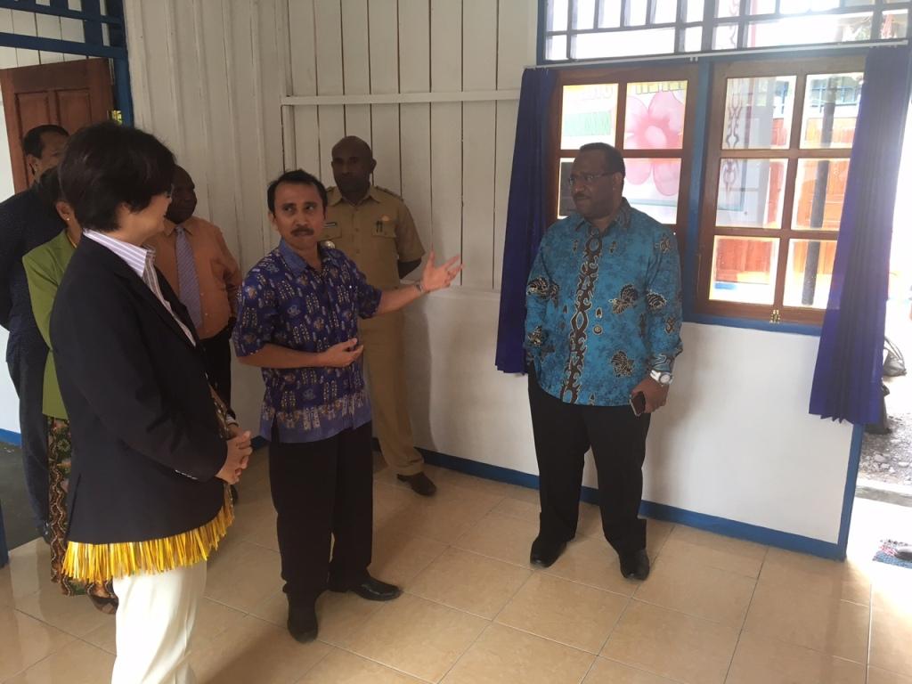 Peresmian penampungan bagi pasien HIV AIDS di Papua (Foto  Dok. Kedubes  Jepang bf18d64727