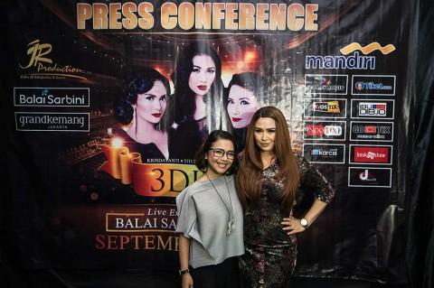 3 Diva Akhiri Konser Reuni di Surabaya Hari Ini