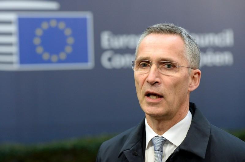 Kepala NATO Jens Stoltenberg. (Foto: AFP/THIERRY CHARLIER)