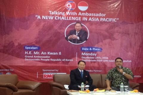 Dubes Korut Sebut Asia Timur Wilayah Rentan Perang Nuklir