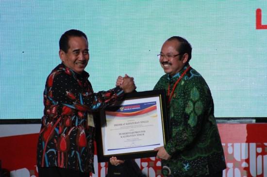 Raih Penghargaan, Pemprov Kaltim Komitmen Tingkatkan Kualitas Pelayanan Publik