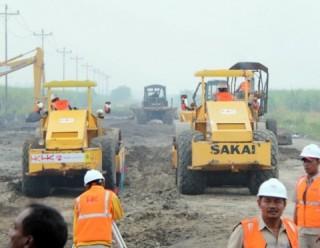 Pembangunan Jalan Tol Trans Sumatera Lampung Selesai di 2018