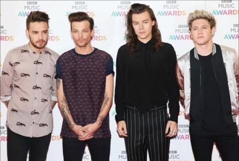 One Direction, Artis dengan Pendapatan Tertinggi 2016