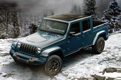 Jeep Lengkapi <i>Line-up</i> Wrangler Pickup