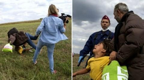 Tendang Imigran Suriah, Jurnalis Hongaria Akhirnya Dihukum