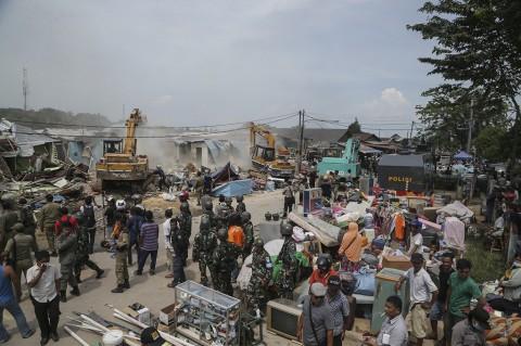 Eksekusi Lahan di Batam Berujung Ricuh