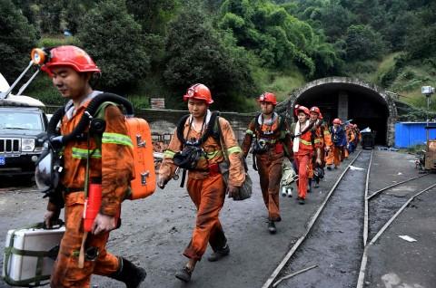 Tambang Batu Bara di Tiongkok Roboh, 9 Pekerja Tewas