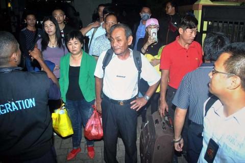 Imigrasi Bogor Deportasi 11 WN Tiongkok