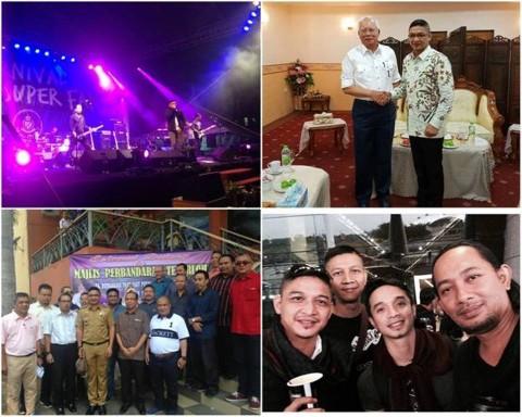 Ungu Tampil di Malaysia, Pasha Kunjungi PM Najib Tun Razak