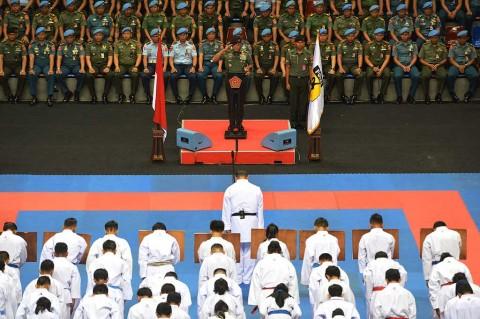 Kejuaraan Karate Paspampres Dibuka