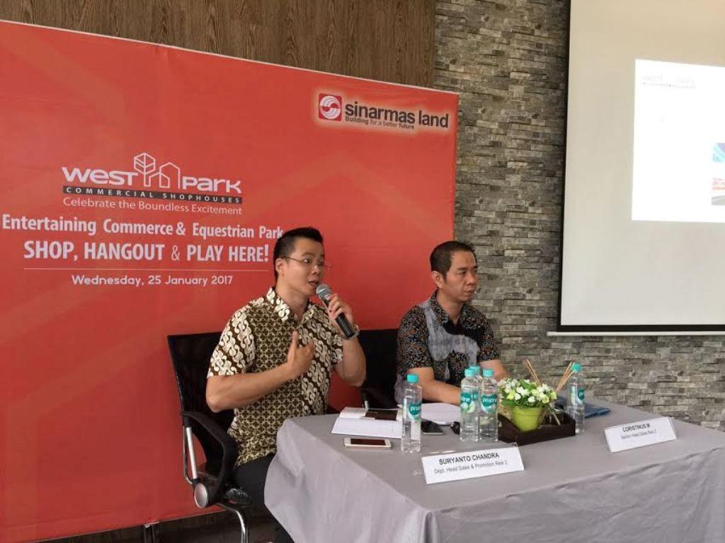 Suasana peluncuran produk baru dari Sinar Mas Land (Foto: dokumentasi Sinar Mas Land)