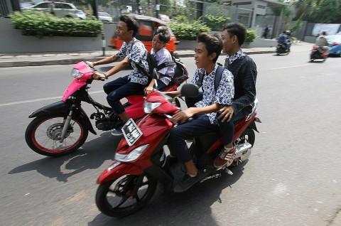 Pelajar Padang Panjang Dilarang Bawa Kendaraan ke Sekolah