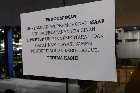 Pelayanan di Dinas Penanaman Modal Kota Bandung Berhenti Total