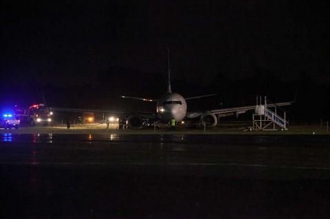 Pesawat Garuda Tergelincir di Adisutjipto