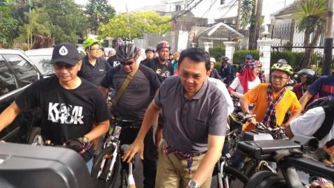 Ahok akan Buat Jalan Layang Khusus Sepeda