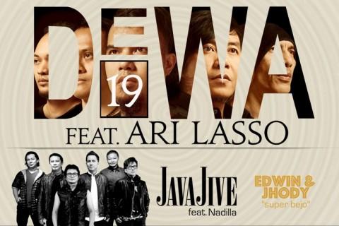 Dewa 19 dan Java Jive akan Gelar Konser Bersama