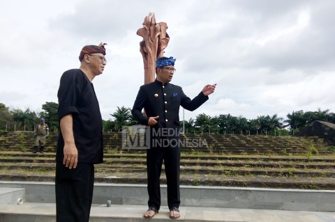 Renovasi Taman Tegalega Bandung Kekurangan Dana