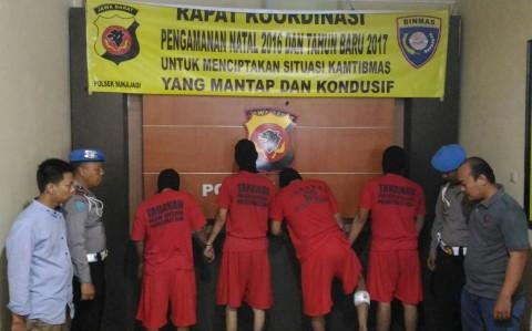 Anggota Geng Motor Culik dan Peras Kasir Rumah Makan