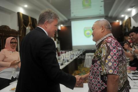 Konsul AS Dukung Pembangunan Sumatera Selatan