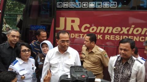 Bus JR Connexion Diluncurkan