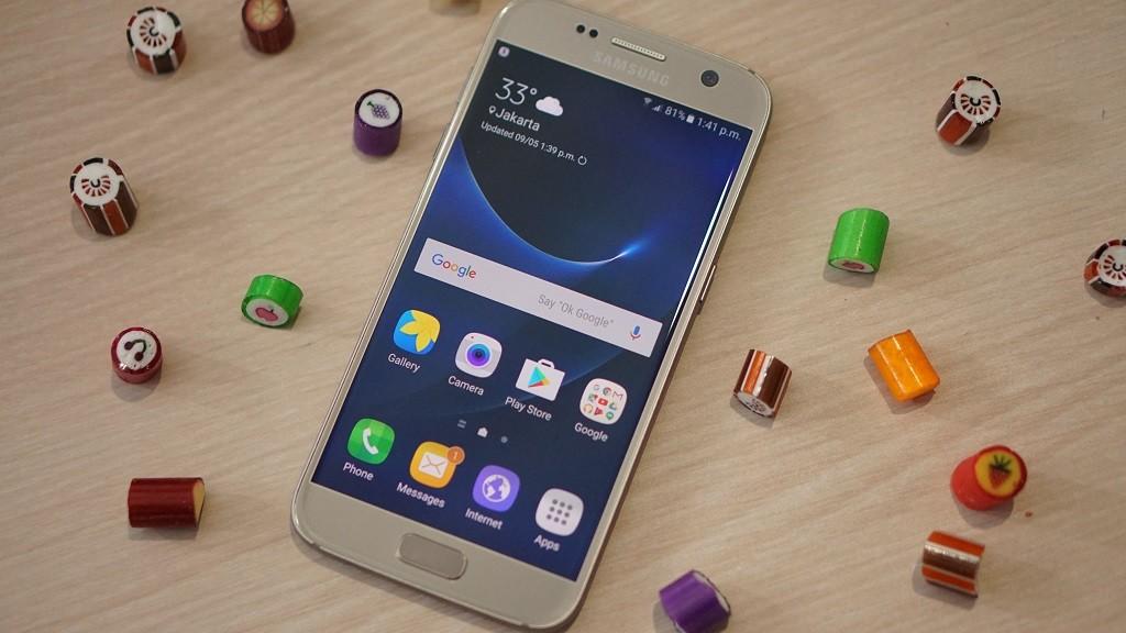 Samsung Tanam Secure Folder di Galaxy S7