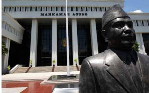 MA Sudah Pecat 20 Hakim Nakal