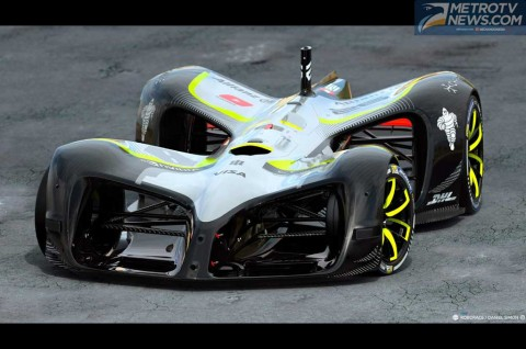 Robocar, Mobil Masa Depan Buat Kompetisi Balap