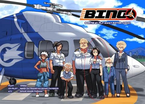 Bingo, Kisah Petualangan Pilot Perempuan di Indonesia