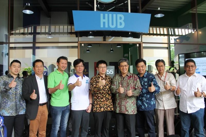 Sinar Mas Land menggandeng GeeksFarm dalam membangun komunitas teknologi di kawasan smart city BSD (Foto:Metrotvnews.com/Ellavie Ichlasa Amalia)